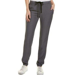 James Perse Grey Soft Twill Joggers (M)